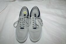 Tommy Hilfiger Men's Gray Canvas Shoes Size 9 TH Phillie Boat Shoe Casual