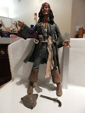 """Pirates of the Caribbean CAPTAIN JACK SPARROW 18"""" figure Loose Complete"""