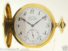 ULYSSE NARDIN LOCLE & GENEVE - ANKERCHRONOMETER - TASCHENUHR IN 18ct GOLD