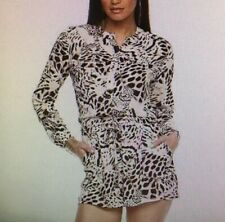 NWT Jennifer Lopez Leopard Romper Size 14