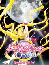 DVD SAILOR MOON CRYSTAL SEASON 1 2 - English Subtitle All Region FREE SHIPPING