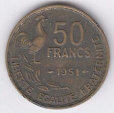Francia 1951 50 francos moneda