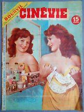 ►CINEVIE 135/1948-GABY BRUYERE-LORETTA YOUNG-JOSEPH COTTEN-RITA HAYWORTH-BOURVIL
