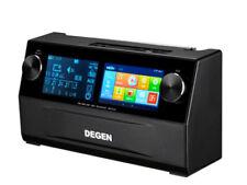 Degen De1108 Full-band Multimedia Intelligent Wifi Bluetooth Desktop Radio