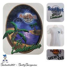 VTG HRC Hard Rock Cafe S Shirt Mens Womens Ft Lauderdale Guitar Vintage TEE T