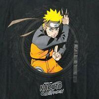 Naruto Uzumaki Men's 2XL T-Shirt Licensed Shonen Jump Shippuden Anime Manga