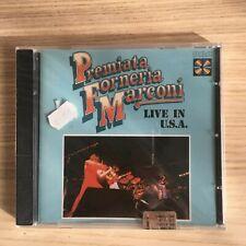PFM - Live in USA - CD Album - RCA - Nuovo Sigillato!