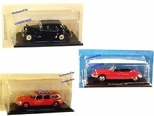 Prize of 3 French vehicles Cars CITROEN DS19 1961 ID 20 Fireman TRACTION 11 1953