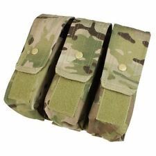 Condor MA33 Triple AR/AK Mag Pouch Holds up to 9 - 5.56 & 7.62 Mags Multicam