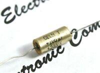 1pcs - CELM-T 100uF (100µF) 20V 10% NP/BP Axial Tantalum Capacitor NOS
