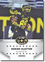 "DARIUS SLAYTON 2015 LEAF ""1ST EVER PRINTED"" HIGH SCHOOL ARMY ROOKIE CARD!"