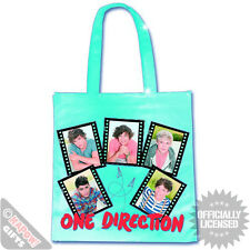 One Direction Film Strips Plastic Eco Bag. 1d Officially Licensed Merchandise