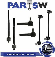 6 Piece Complete Front Suspension Kit for 2007-2014 Dodge Caliber Jeep Compass