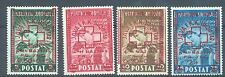 Albania 1945 red Cross overprint sg.425-8 MH set of 4