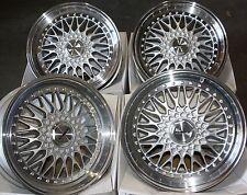 """15"""" SILVER VINTAGE ALLOY WHEELS FITS BMW MINI R50 R52 R55 R56 R57 R58 R59 4X100"""