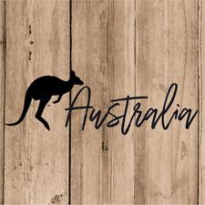 Vinilo de Corte Australia Canguro Pegatina Canguro Australia 20 cm Adhesivo Moto