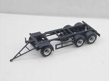 UFS schwarz für Umbau NEU 1:87 EM5022 5x Herpa WP Anhänger Chassis mit geschl