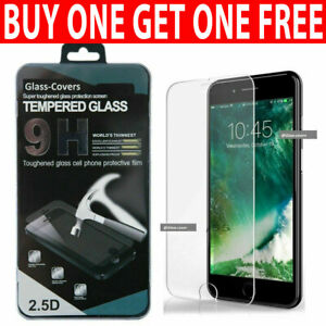 For iPhone 7 6 6s 8 Plus SE 2 2020 Genuine Tempered Glass Screen Protector
