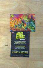2012 topps mars attacks invasion promo card
