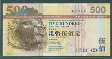Hong Kong HSBC $500 2005 ef