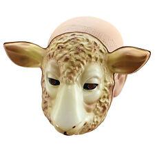 enfant plastique # AGNEAU ANIMAL MASQUE VISAGE & Nature Nativité déguisement