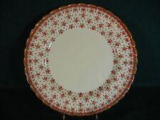 Spode Fleur de Lys Lis Red Bone China Y7481 Dinner Plate(s)