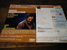 BRUCE SPRINGSTEEN - Plan média / Press kit !!! LIVE IN BARCELONA !!!