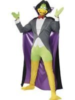 Adult Count Duckula TV Show - Cartoon Duck Character Halloween Costume