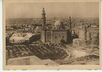 ANTIQUE EGYPT EGYPTIAN CITY CAIRO AFRICA CITY VIEW SCENIC ARCHITECTURE OLD PRINT