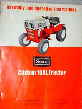 917.25470 Sears Custom 10XL Tractor Owners-Parts Manual on CD