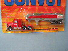 Matchbox Convoy Peterbilt Tanker Getty Gas Petrol Truck Chrome Tank in BP Toy