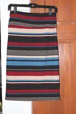 Agnes & Dora M Striped Pencil Skirt Size Medium NWT Hard to Find!