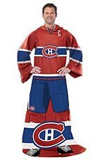 NHL Montreal Canadiens Captain Comfy Throw - The Blanket With Sleeves