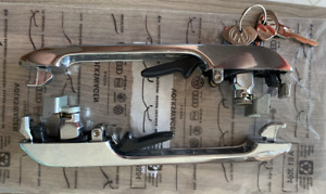 New Genuine VW SET Door Handles 171837205B Golf MK1,Scirocco,Porsche + extra key