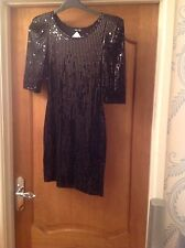 Ladies Stunning Dress From TFNC Size M In Very Good Condition