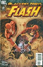 Blackest Night Flash #2 By Geoff Johns Scott Kolins 1:25 Variant B JLA NM/M 2010