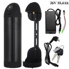 Nera Batteria al Litio 36V 10,4Ah Bottiglia Borraccia per Bici Elettrica Ebike
