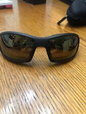 Wiley X Shadow Sunglasses #CCSHA; Frame  Matte Brown; Lens Gold