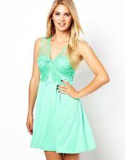 BNWT 🌹Coast 🌹Size 14 Serene Mint Lace Summer Wedding Party Holiday Dress New