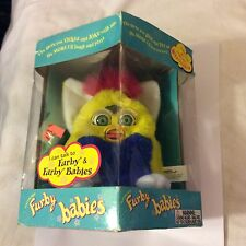 Tiger Electronics 1999 Model #70-940 Yellow/Blue Furby Babies Factory Seal NEW