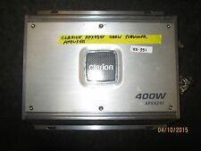 CLARION APX4241 400W SUBWOOFR AMPLIFIER XX-351 *See item*