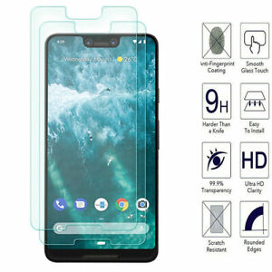 Genuine 9H Tempered Glass Screen Protector Film For Google Pixel 5 3A XL 4a 4 XL