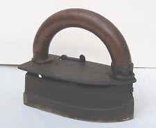 Antique Metal Imperial Brass Mfg Self Heating Flat Iron Pat Feb 28 1911 Chicago
