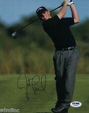 Justin Leonard PGA Golf Signed 8x10 Auto PSA USA Open Champion NCAA