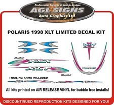 1998 POLARIS XLT LIMITED DECAL KIT with TRAILING ARMS , REPRODUCTIONS