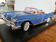 Road Legends Cadillac 1958 Eldorado Biarritz 1:18 Scale Die Cast Blue