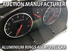 Nissan Micra K12 02-10 Chrome Cluster Gauge Dashboard Rings Speedo Trim 2 pcs
