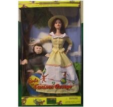 Barbie & Jorge el curioso Muñeca Barbie Mib Edición Coleccionable Mattel 2000