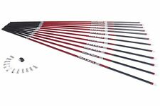 NEW Carbon Express 50752 Maxima Red 350 Shafts 12Pk