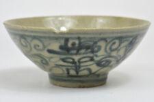 19th Chinese Qing DEHUA KILN FUJIAN Blue and White Porcelain Bowl 清 德化陶瓷 青花 福建